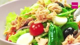 Салат с тунцом НИСУАЗ