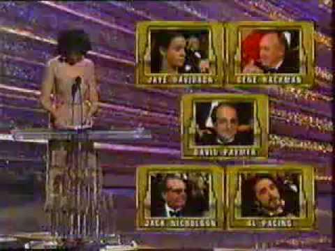 Oscar 1992 JAYE DAVIDSON