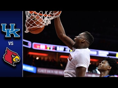 Louisville vs. Kentucky Basketball Highlights (2016-17)
