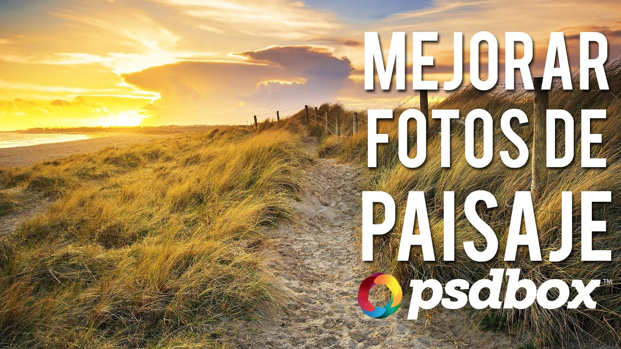 Mejorar Fotos De Paisaje Con Tonos Hdr En Photoshop Youtube