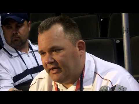Super Bowl XLVII Media Day: SF OC Greg Roman