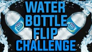 Water Bottle Flip Challenge with Jonathan Hoffman Blogs