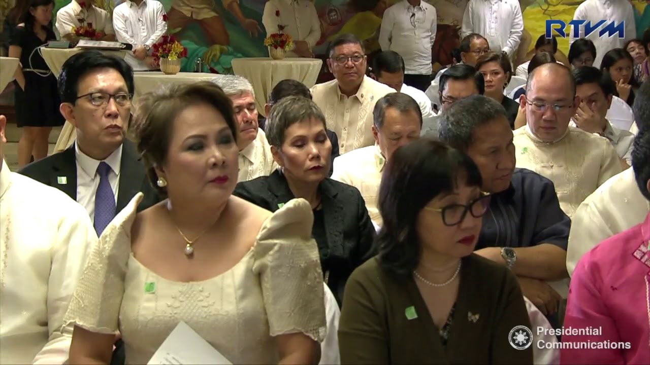 Mass Oath-taking of Presidential Appointees | PBS-RTVM