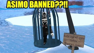asimo3089 BANNED HIMSELF for CHEATING!!! | Roblox Jailbreak Winter Update
