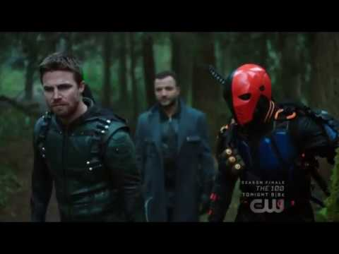 Arrow 5x23 Captain Boomerang betrays Oliver Queen