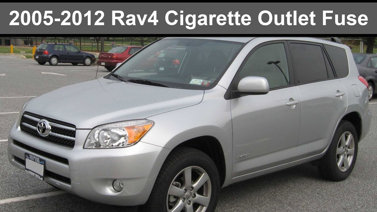 2005 2012 toyota rav4 cigarette power outlet fuse [ 1280 x 720 Pixel ]