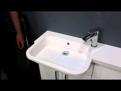 Toilet and Sink Combo for Small Bathrooms   Vanity Unit & Wc Unit