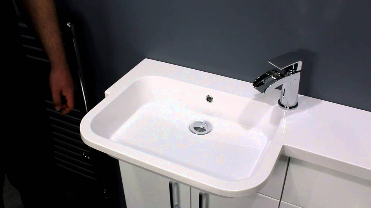 Small Bathroom Vanity Sink Unit 2