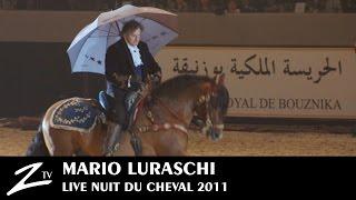 Mario Luraschi - Nuit du Cheval - Plein Feux Sur Les Chevaux Cascadeurs - LIVE
