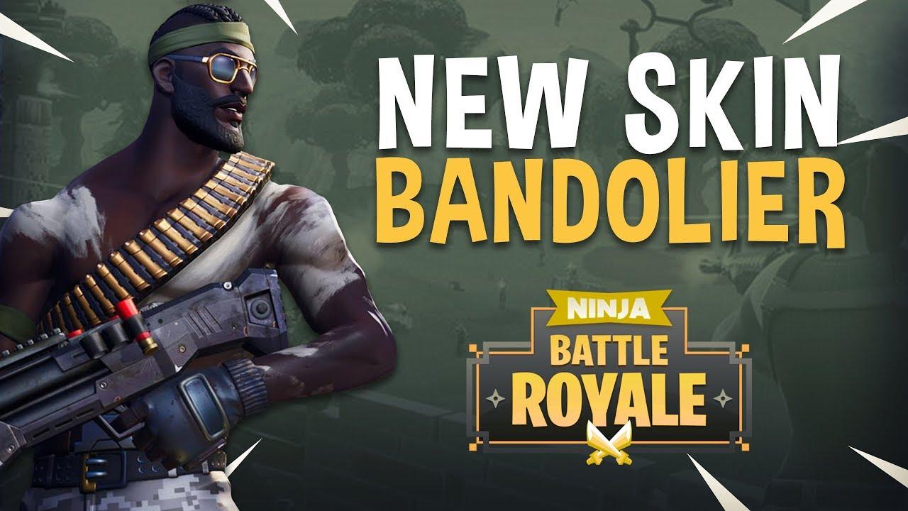 New Skin Bandolier!! - Fortnite Battle Royale Gameplay - Ninja