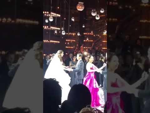 Presidente Enrique Peña Nieto bailando boda