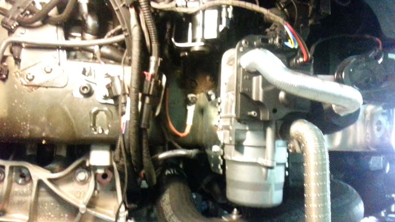 Где стоит предпусковой подогреватель webasto на Audi Q7 NF