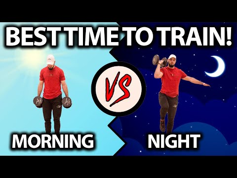 What Is The Best Time of Day to Workout? (YOUR ANSWER)