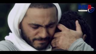 شاهد اخر مقابله بين تامر حسني واخوه الصغير في مشهد مؤثر جدااا!!!