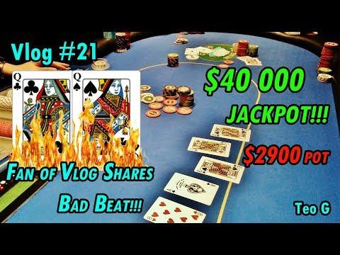 $2900 POT!! Torched QQ at Niagara | 5/10 NL Holdem | Poker Vlog #21