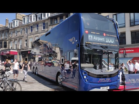 Airlink 100 - Enviro400 XLB Preview - July 2019