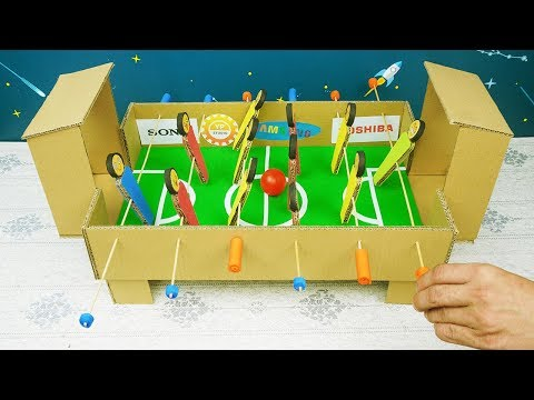 how-to-make-football-game-from-cardboard