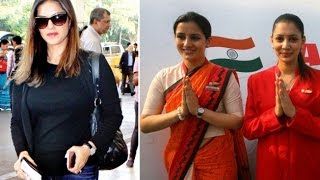 Sunny Leone Makes Airport Staff Member CRY ?