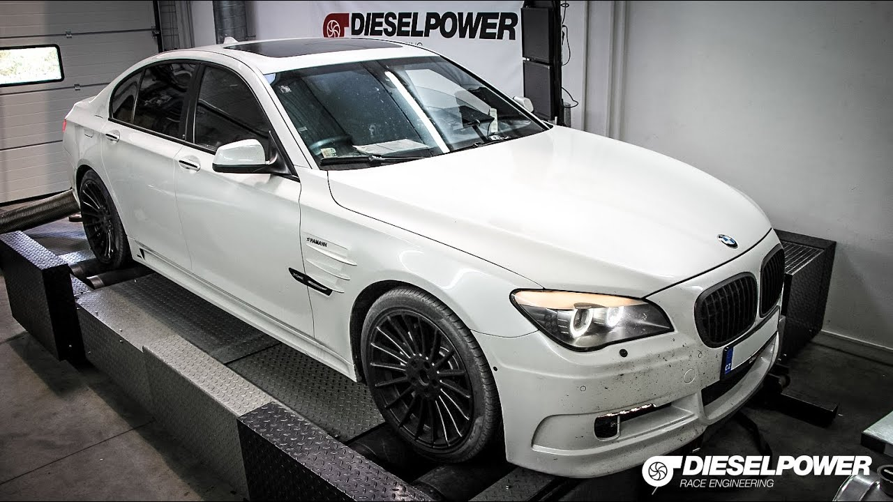 bmw 740d 293ps to 336ps by dieselpower dyno tuning youtube. Black Bedroom Furniture Sets. Home Design Ideas
