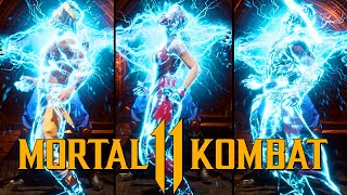 "Mortal Kombat 11 - Raiden ""Zap Zap"" Brutality Performed on all characters"