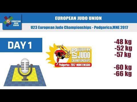 U23 European Judo Championships - Podgorica 2017 - Day 1
