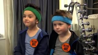 Gerard Butler meets Little Ant and Dec - Saturday Night Takeaway
