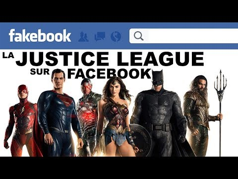 LA JUSTICE LEAGUE sur FACEBOOK