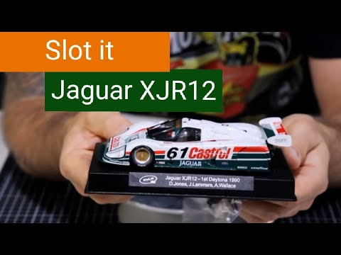 Slot Car review : Slot it Jaguar XJR12