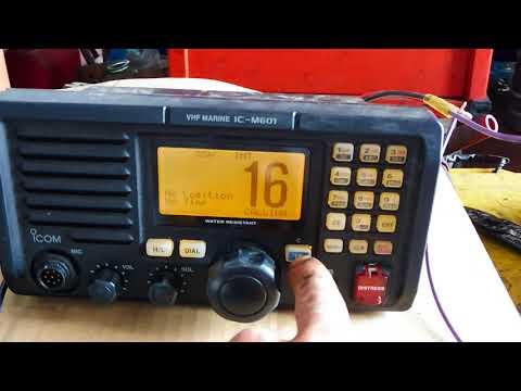 RADIO VHF ICOM IC-M601
