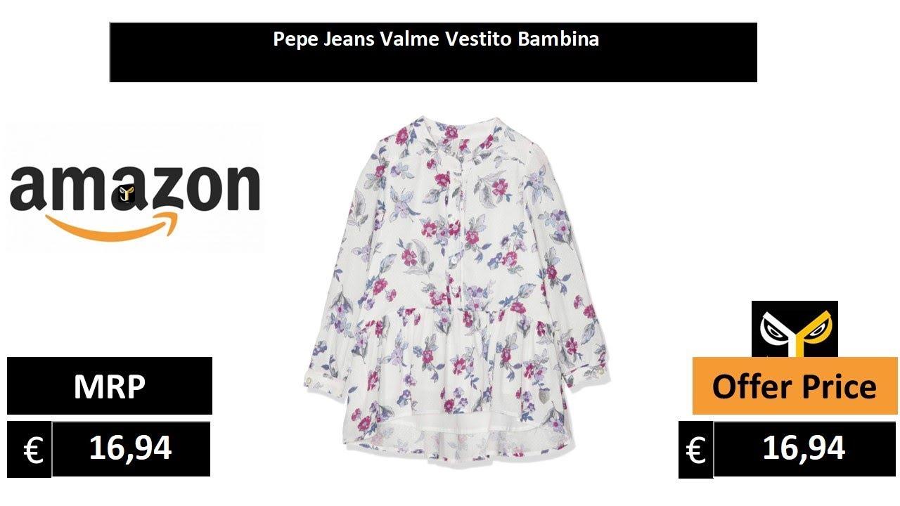Pepe Jeans Valme Vestito Bambina