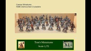 Flemish Crusaders - Caesar Miniatures H086 - 1/72 - S01E12