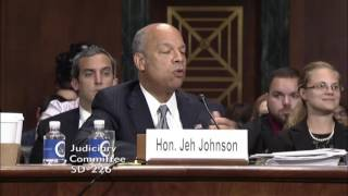 Sen. Cruz Questions DHS Sec. Johnson on Admin's Willful Blindness to Radical Islamic Terrorism