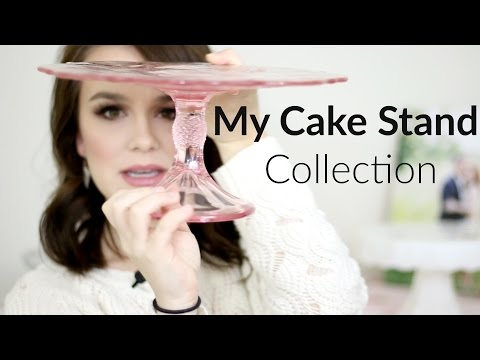 MY CAKE STAND COLLECTION | Milk Glass, Vintage, Pioneer Woman, Etc.