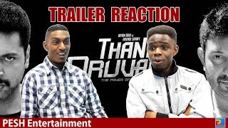 Thani Oruvan Trailer Reaction | PESH Entertainment