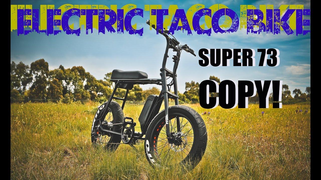 Super 73 Copy Bafang 750watt E Bike Electric Taco Bike