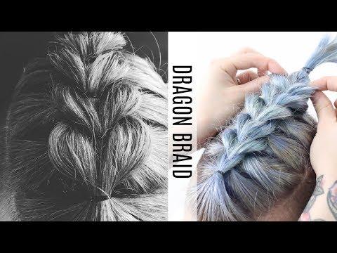 •Dragon Hair Braid Tutorial•
