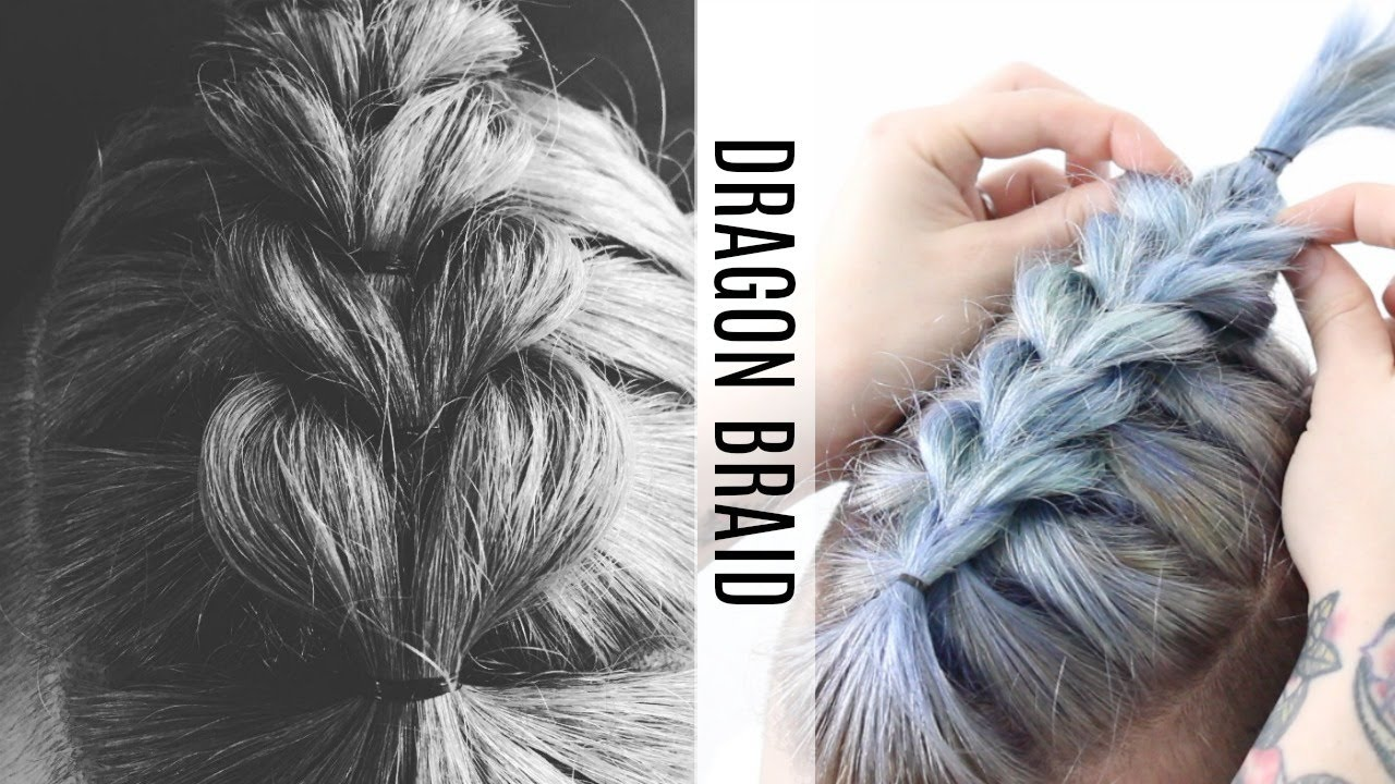 •Dragon Hair Braid Tutorial• - YouTube