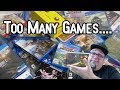 Too Many Games.... Not Enough Time....? Gamer Rant