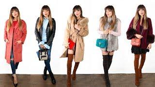 My Coat Collection | Amelia Liana