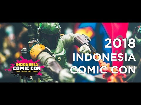 Indonesia Comic Con 2018 | Jakarta Convention Center | Senay