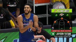 <b>Jayson Tatum</b> Final Round | 2021 NBA 3-Point Contest
