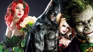 Top 10 Batman Arkham Facts You Probably Didn