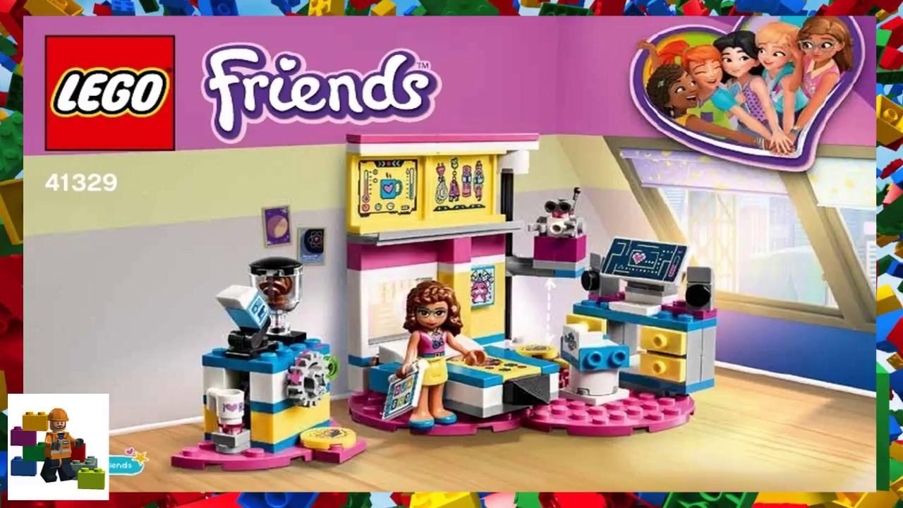 Lego Instructions Friends 41329 Olivias Deluxe Bedroom Youtube