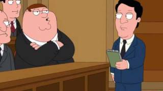 Family Guy - Bird Is The Word (in Court!)