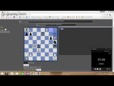 Chess Tactic - Forced Mate in 2