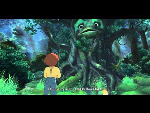 Ni No Kuni Wrath Of The White Witch Gameplay Walkthrough Part 3 - Old Father Oak