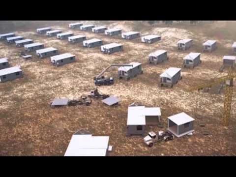 Ashtrom Modular System Housing Construction