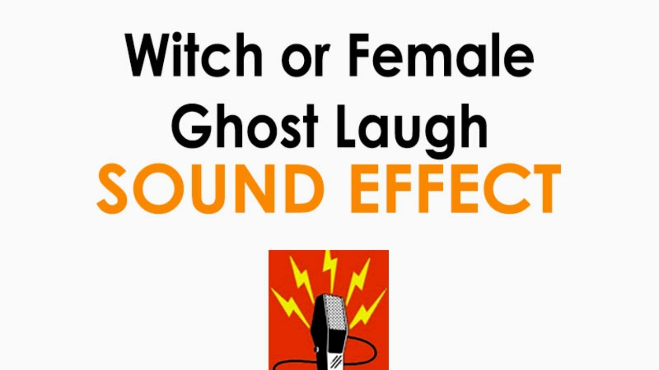 Witch or Female Ghost Laugh Sound Effect