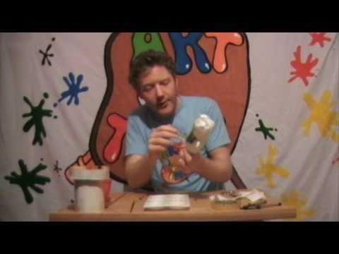 ART TIME How to  make a fun cactus key  holder