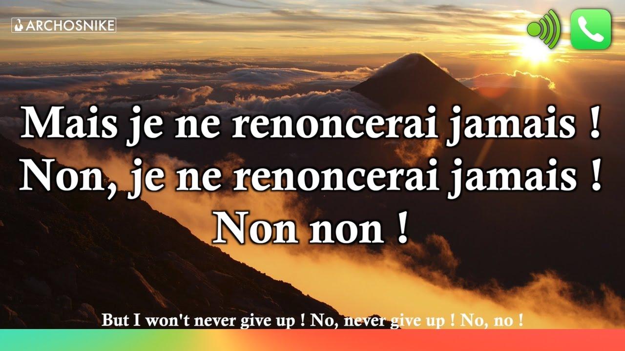 Never Give Up - Sia - Traduction & Lyrics Archosnike - YouTube